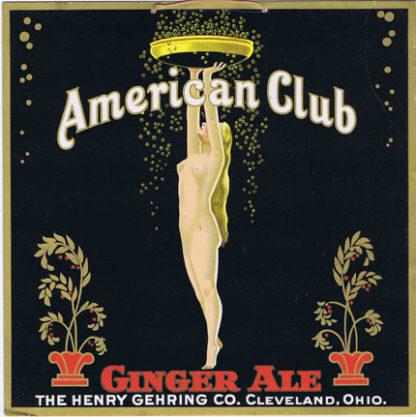 AK0323 AMERICAN CLUB GINGER ALE