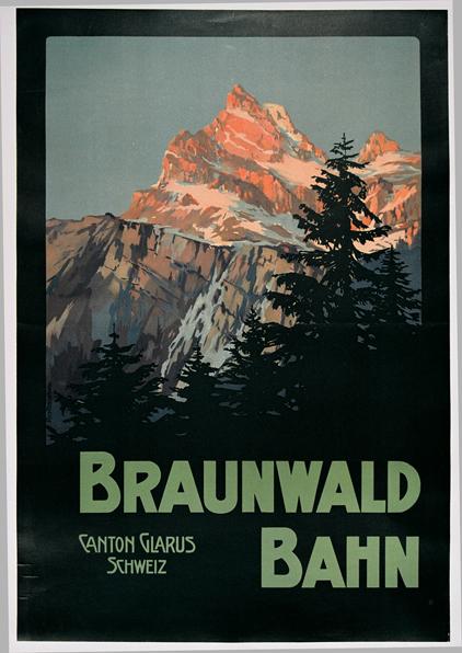 AK0513 BRAUNWALD BAHN - CANTON GLARUS - SCHWEIZ