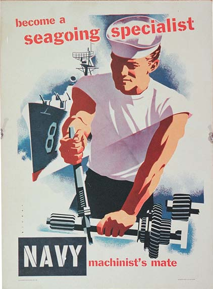 DK290 NAVY - BECOME A SEA GOING SPECIALIST - MACHINIST'S MATE