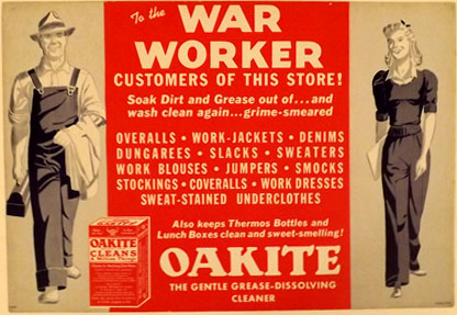 G024 TO THE WAR WORKER CUSTOMERS OF THIS STORE!