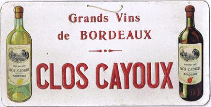 G131 GRAND VINS DE BORDEAUX – CLOS CAYOUX