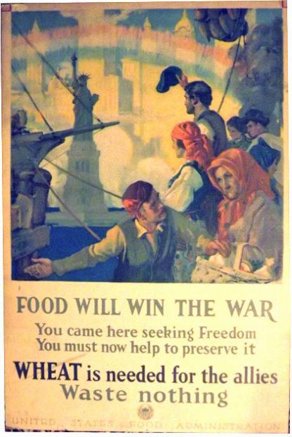 G141 FOOD WILL WIN THE WAR