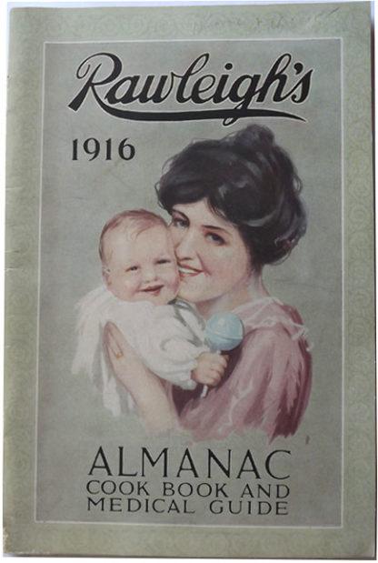 G163 RAWLEIGH'S 1916 ALMANAC – COOK BOOK – MEDICAL GUIDE