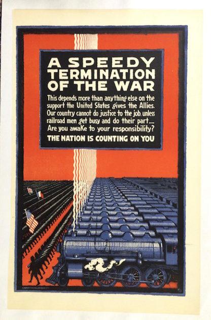 H063 A SPEEDY TERMINATION OF THE WAR