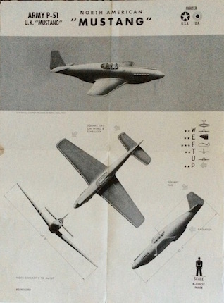H075 ARMY P-51 - NORTH AMERICAN MUSTANG