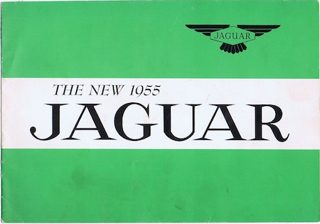 H162 THE NEW 1955 JAGUAR