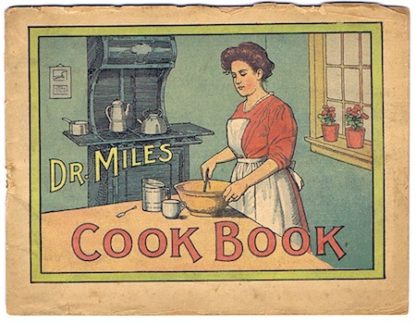 H167 DR. MILES COOK BOOK