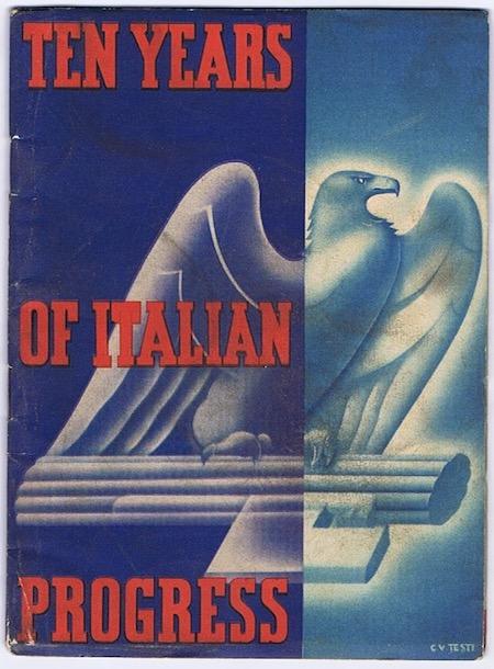 H228 TEN YEARS OF ITALIAN PROGRESS