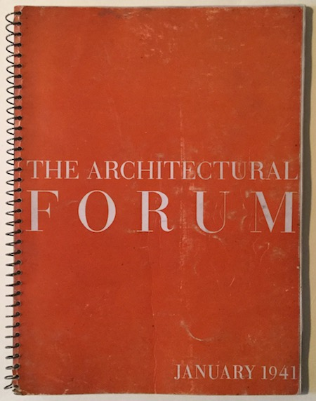 H231 THE ARCHITECTURAL FORUM