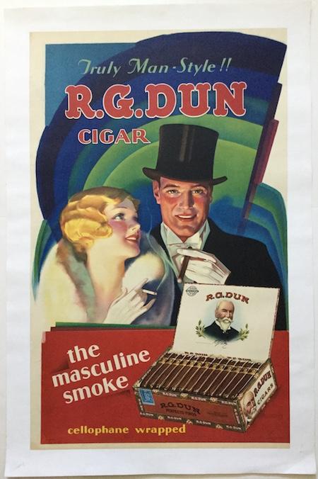 H544 TRULY MAN-STYLE!! R.G. DUN CIGAR