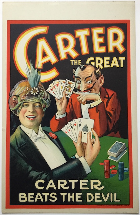 J43 CARTER THE GREAT - CARTER BEATS THE DEVIL