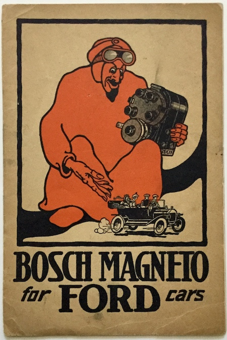 J54 BOSCH MAGNETO FOR FORD CARS