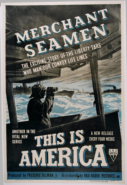 U0433 MERCHANT SEAMEN – THIS IS AMERICA
