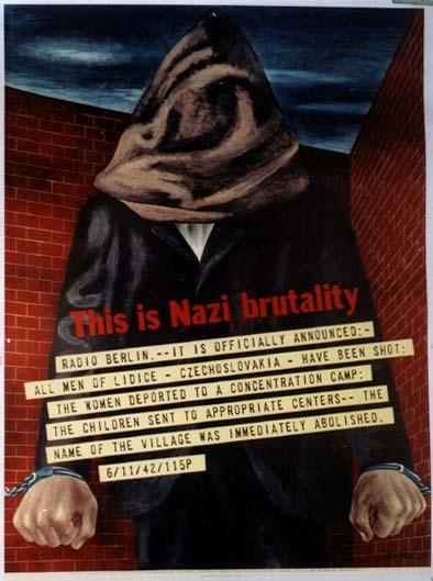 WW1511 THIS IS NAZI BRUTALITY