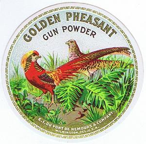 AK0578 DU PONT GOLDEN PHEASANT GUN POWDER