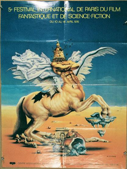 DK052 INTERNATIONAL SCIENCE FICTION FILM FESTIVAL – PARIS APRIL 1976