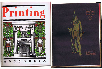 G166 THE PRINTING ART - SIX ISSUES 1903 - 1904
