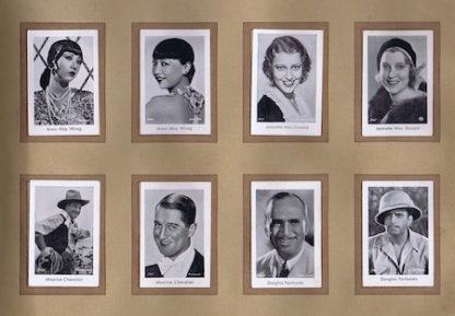 H066 RAMSES CIGARETTE CARDS ALBUM 2 – MOVIE STARS 1930s