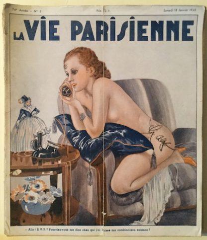 H260 LA VIE PARISIENNE – SIX ISSUES