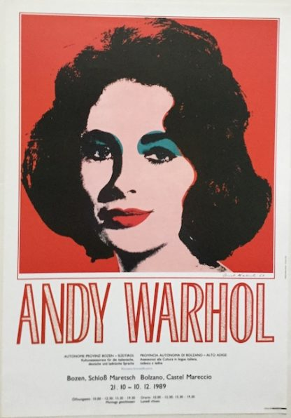 H507 ANDY WARHOL EXHIBITION IN ITALY