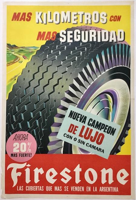 H520 SPANISH FIRESTONE TIRE AD