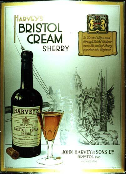 L0609 HARVEY'S BRISTOL CREAM SHERRY