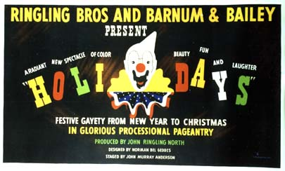 L2579 RINGLING BROS. AND BARNUM & BAILEY HOLIDAYS