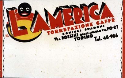 P2074 L'AMERICA TORREFAZIONE CAFFE
