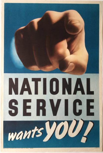 PB3035 NATIONAL SERVICE WANTS YOU!