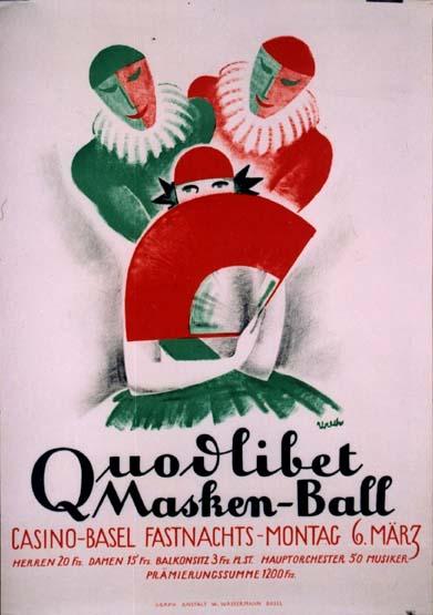 WW1330 QUODLIBET MASKED BALL