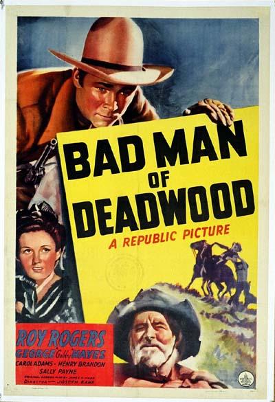 WW2027 BAD MAN OF DEADWOOD