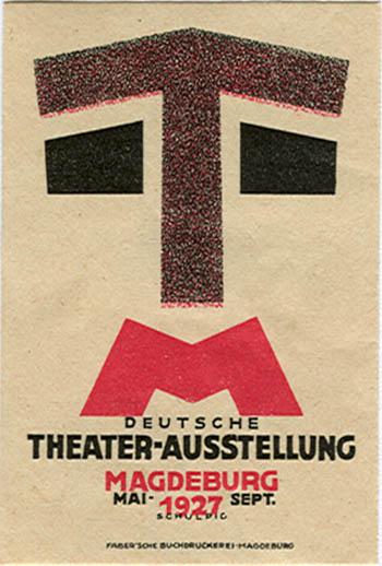 AK0043 THEATER - AUSSTELLUNG MAGDEBURG 1927