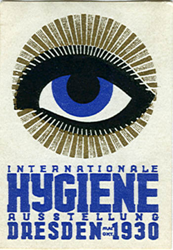 AK0047 HYGIENE - INTERNATIONAL HEALTH EXPOSITION - DRESDEN 1930 - STAMP