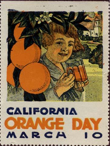 ST109 CALIFORNIA ORANGE DAY