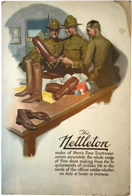 J225THE NETTLETON MAKE OF MEN'S FINE FOOTWEAR