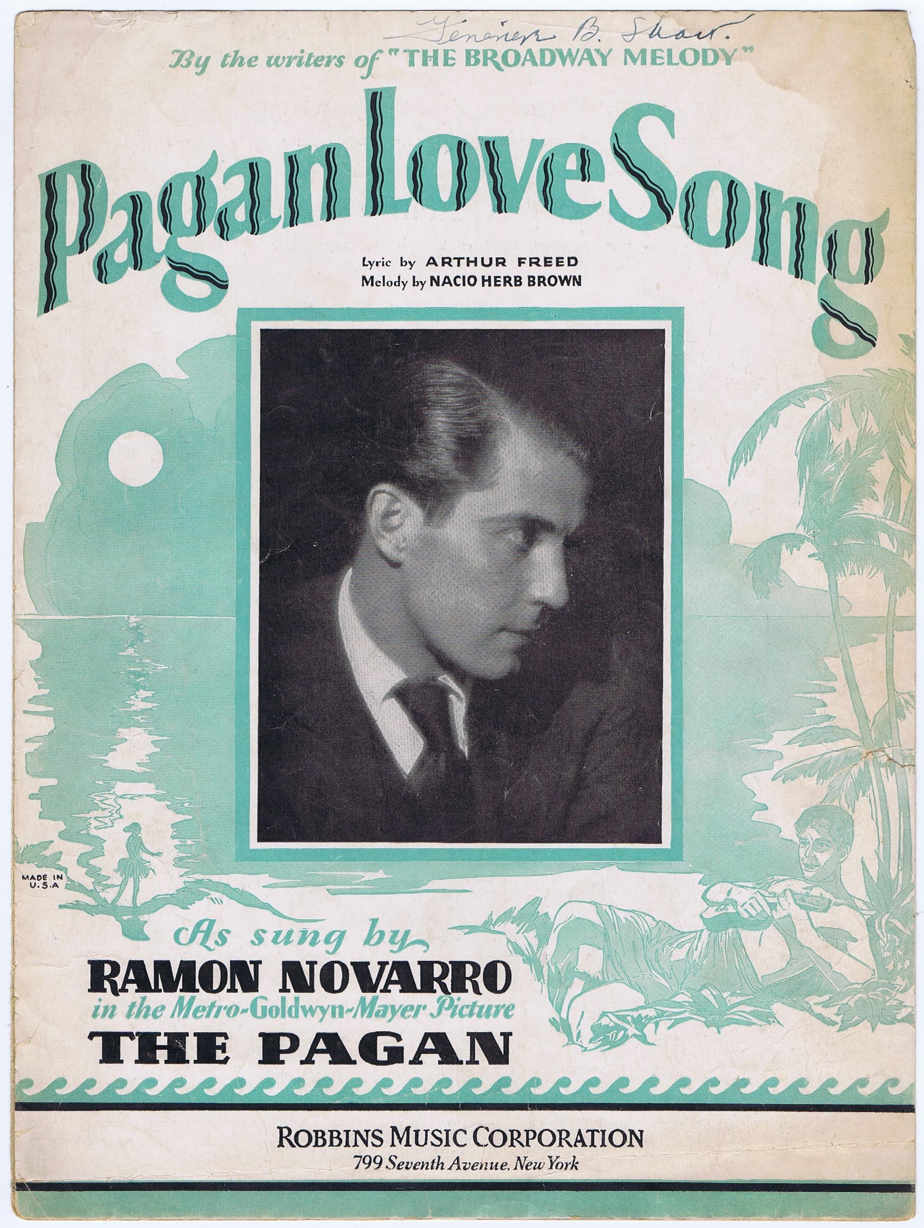 J186PAGAN LOVE SONG