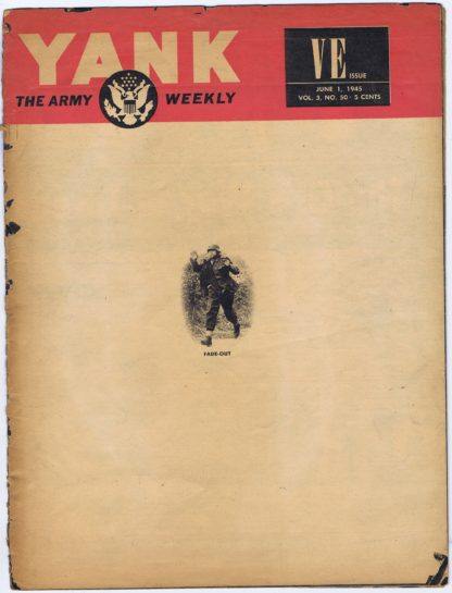 J217YANK, THE ARMY WEEKLY VE ISSUE JUNE 1, 1945
