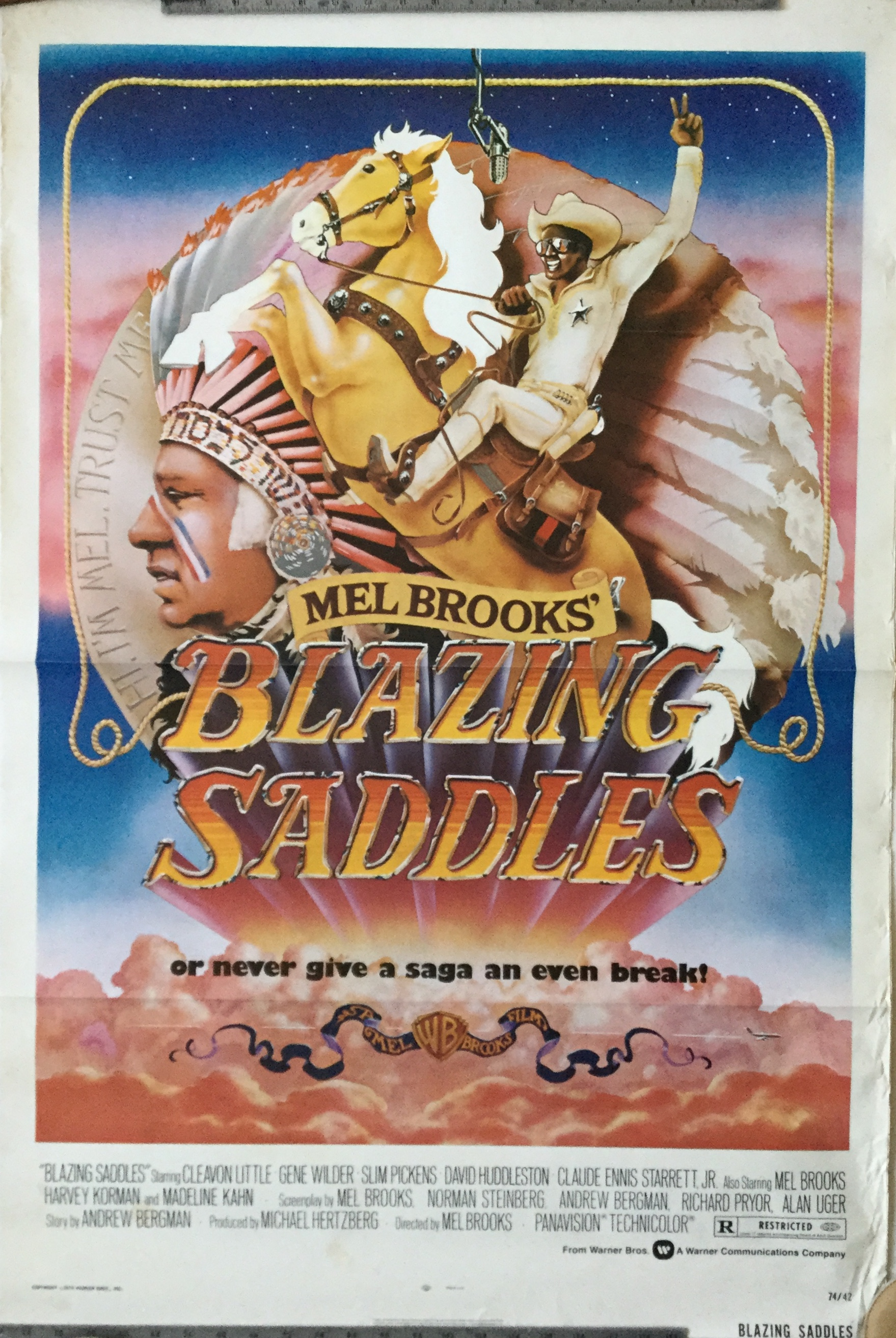 J249	BLAZING SADDLES