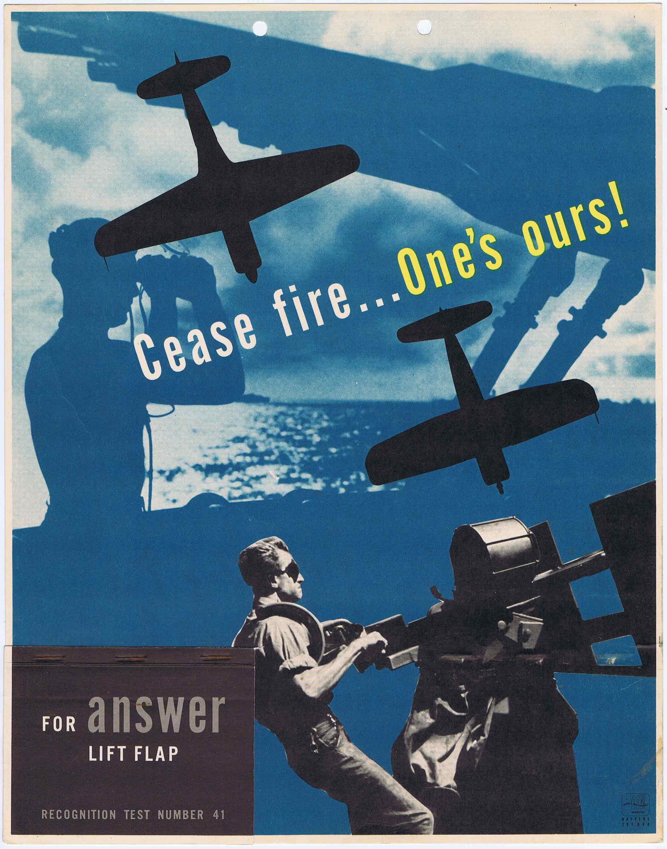 J357	CEASE FIRE…ONE'S OURS!