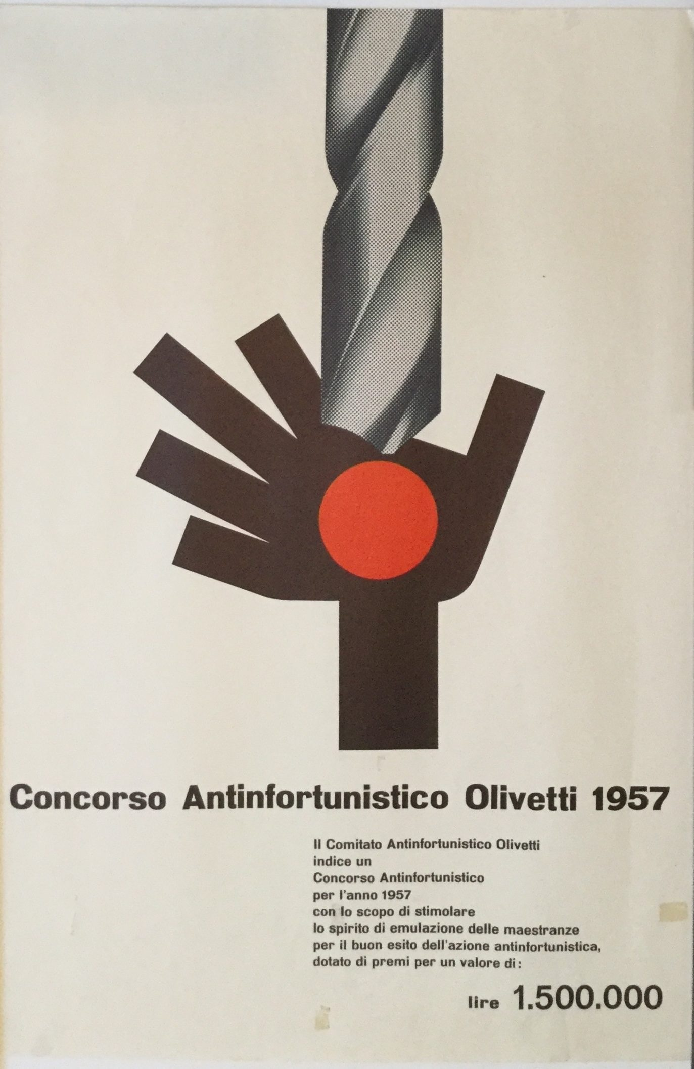 J432	OLIVETTI ACCIDENT PREVENTION COMPETITION 1957