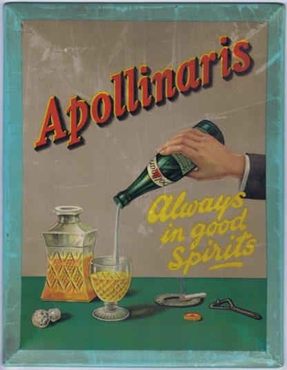 DK100APOLLINARIS – ALWAYS IN GOOD SPIRITS