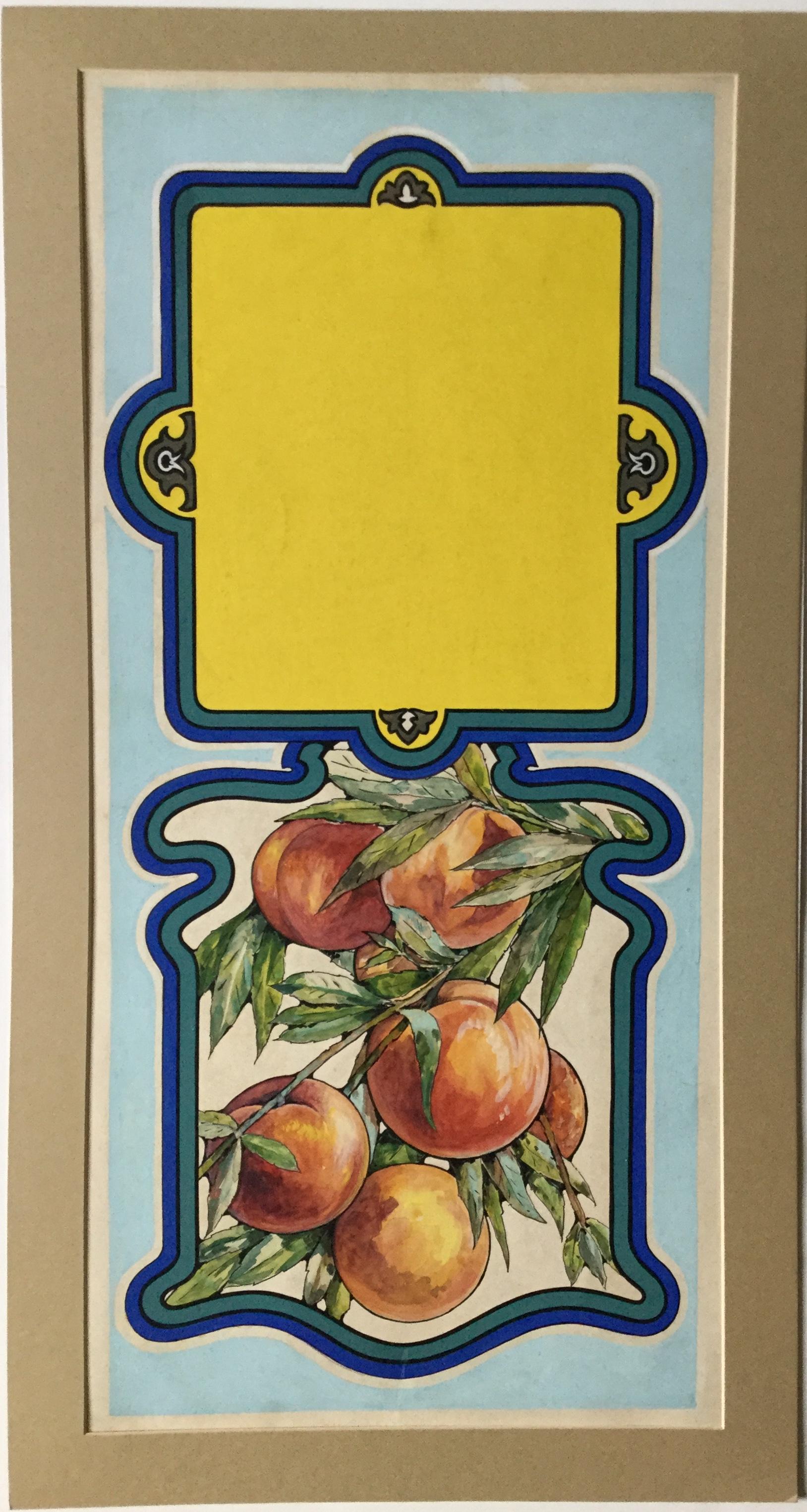 J482STROBRIDGE ORIGINAL ART CA. 1910