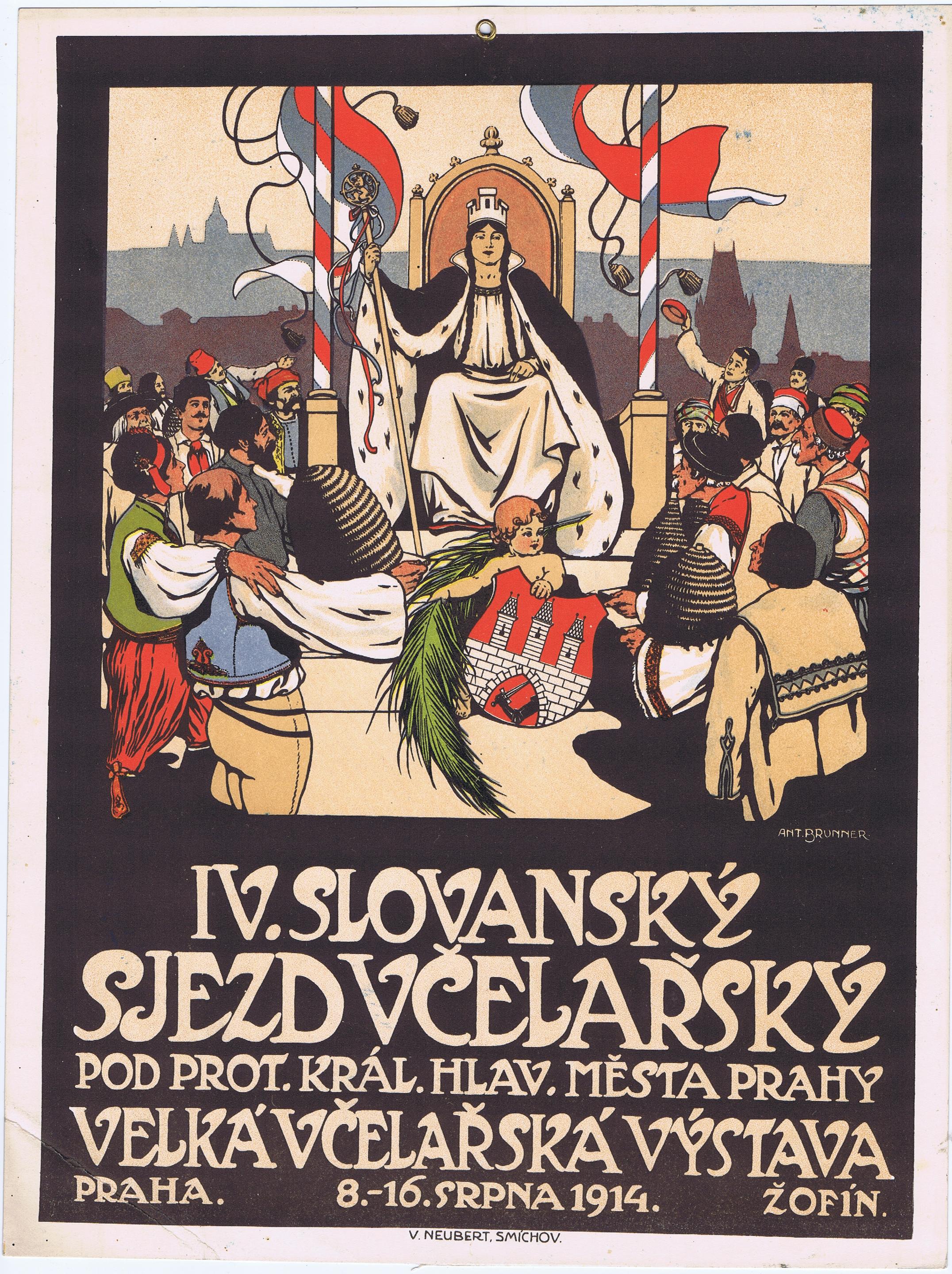 WW1392IV SLOVANSKY SJEZD VCELARSKY 1914