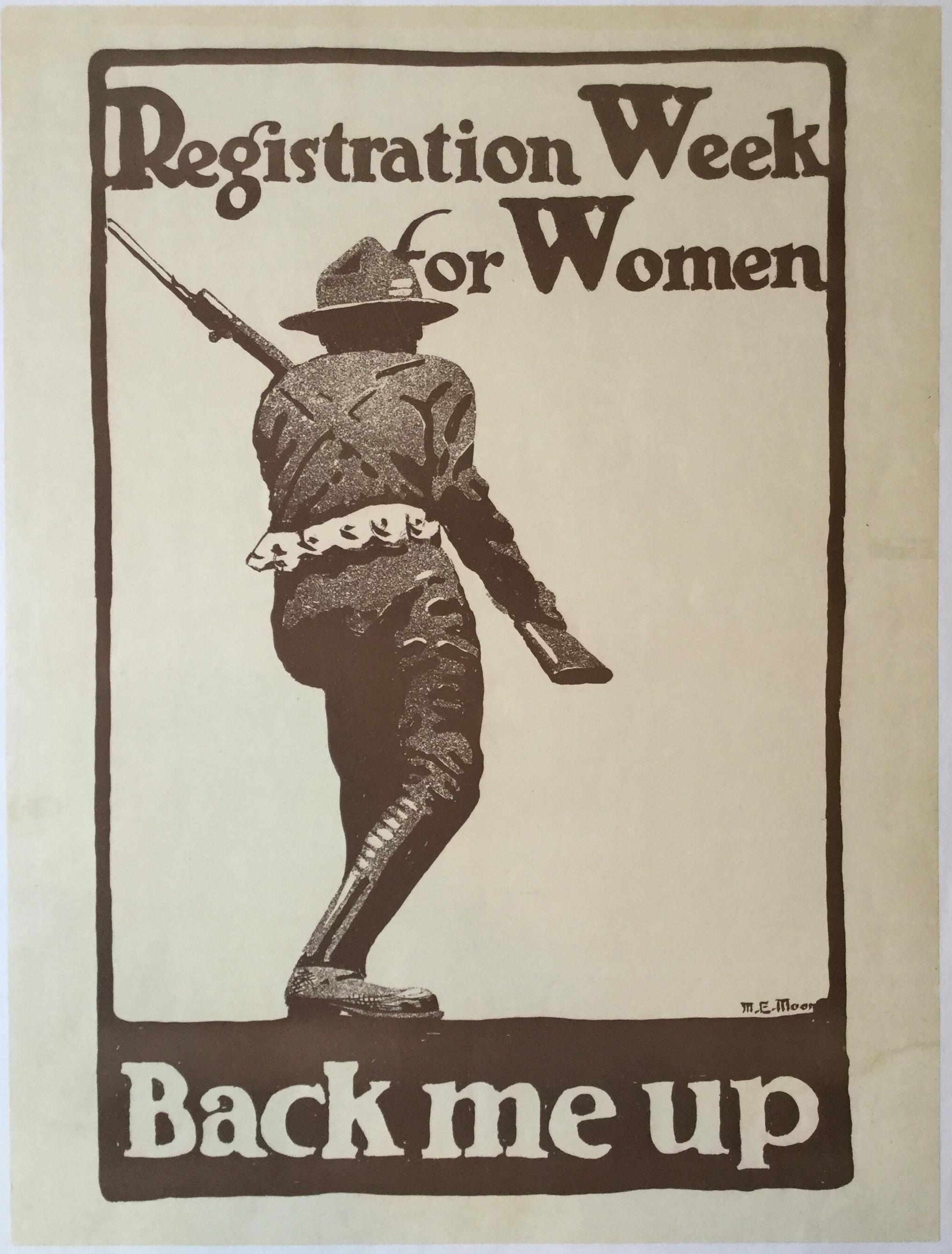 WW1103REGISTRATION WEEK FOR WOMEN - BACK ME UP