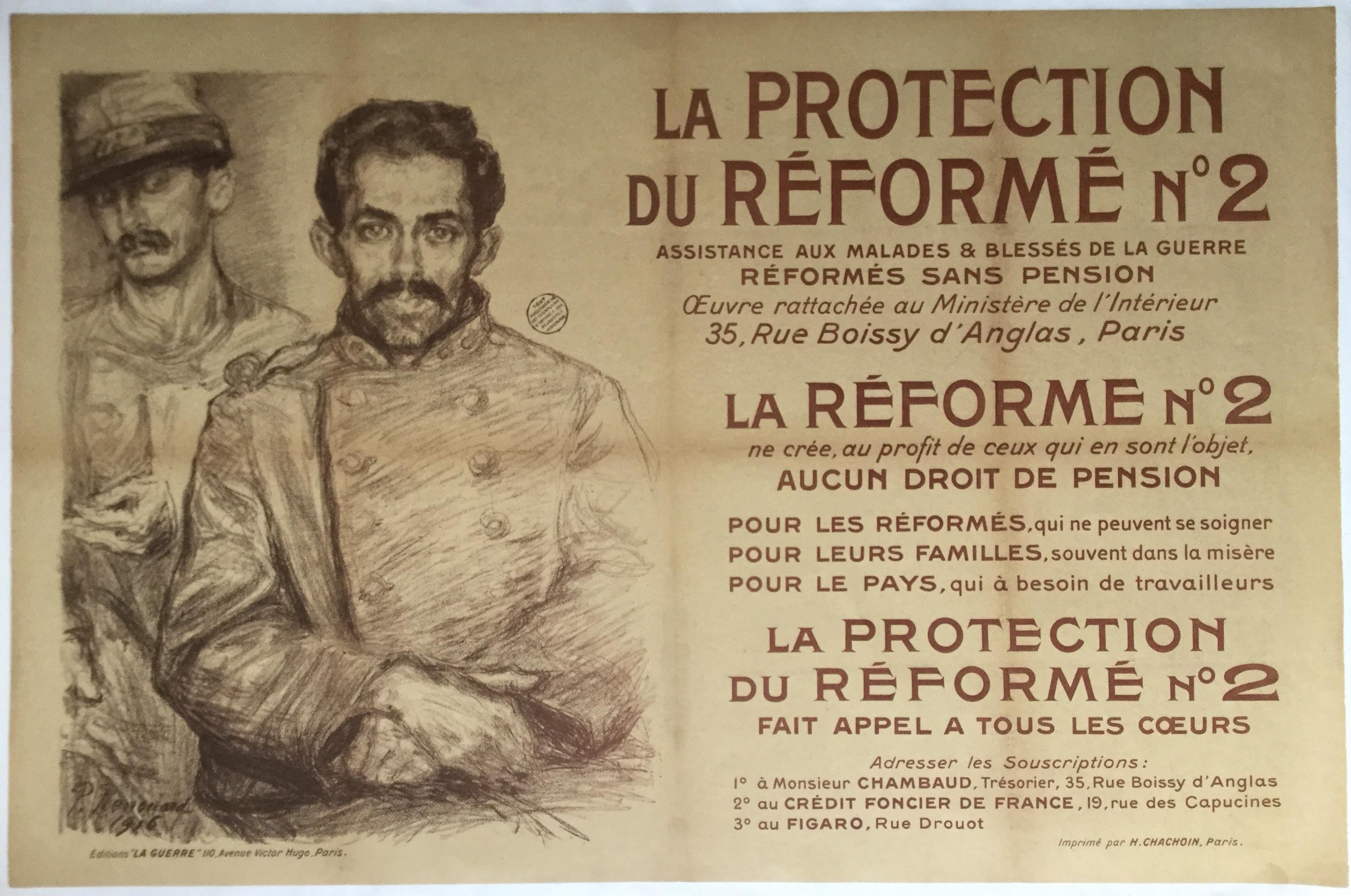 WW749LA PROTECTION DU REFORME NO. 2