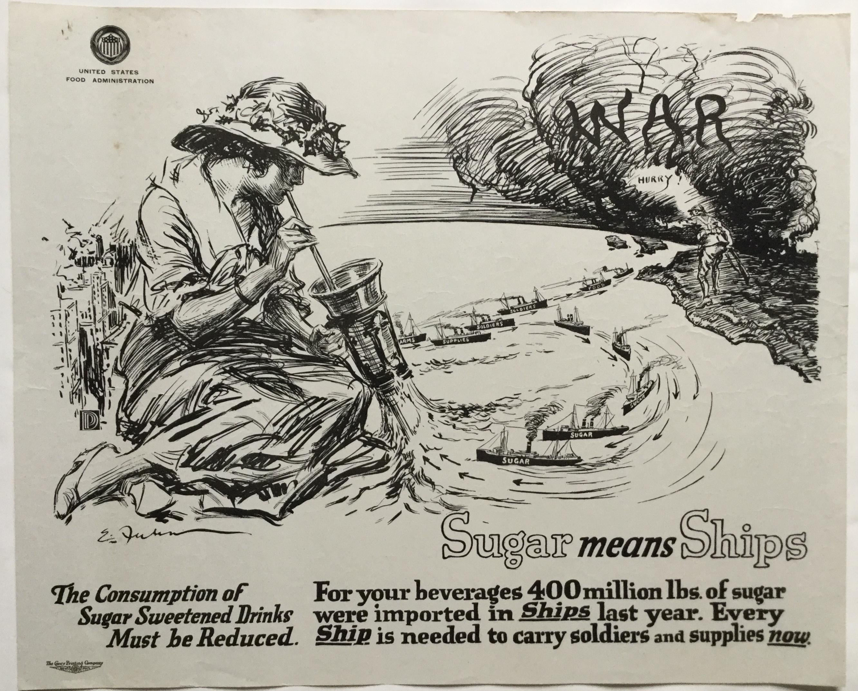 WW756SUGAR MEANS SHIPS