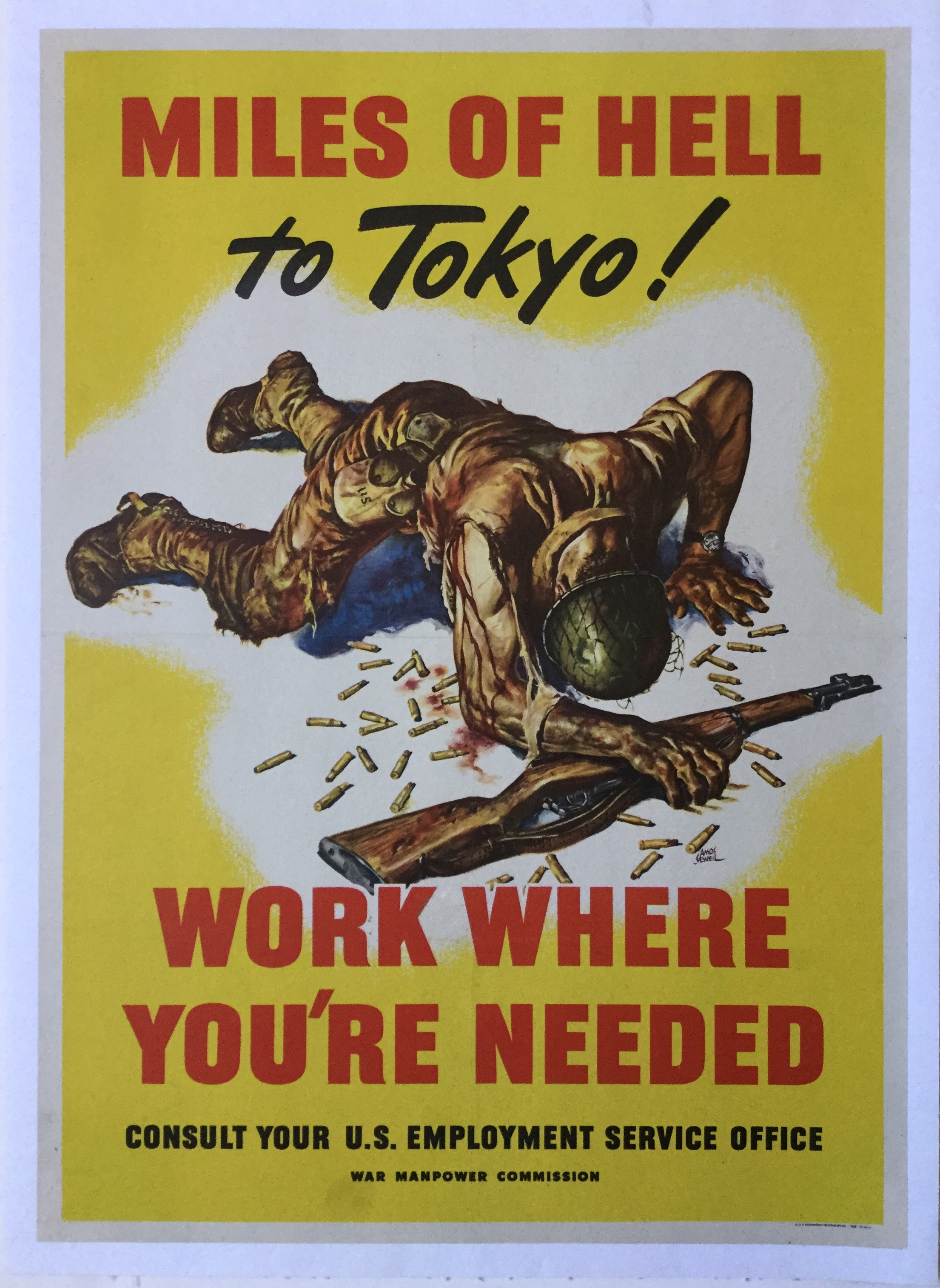 YK0182MILES OF HELL TO TOKYO! WORK WHERE YOU'RE NEEDED