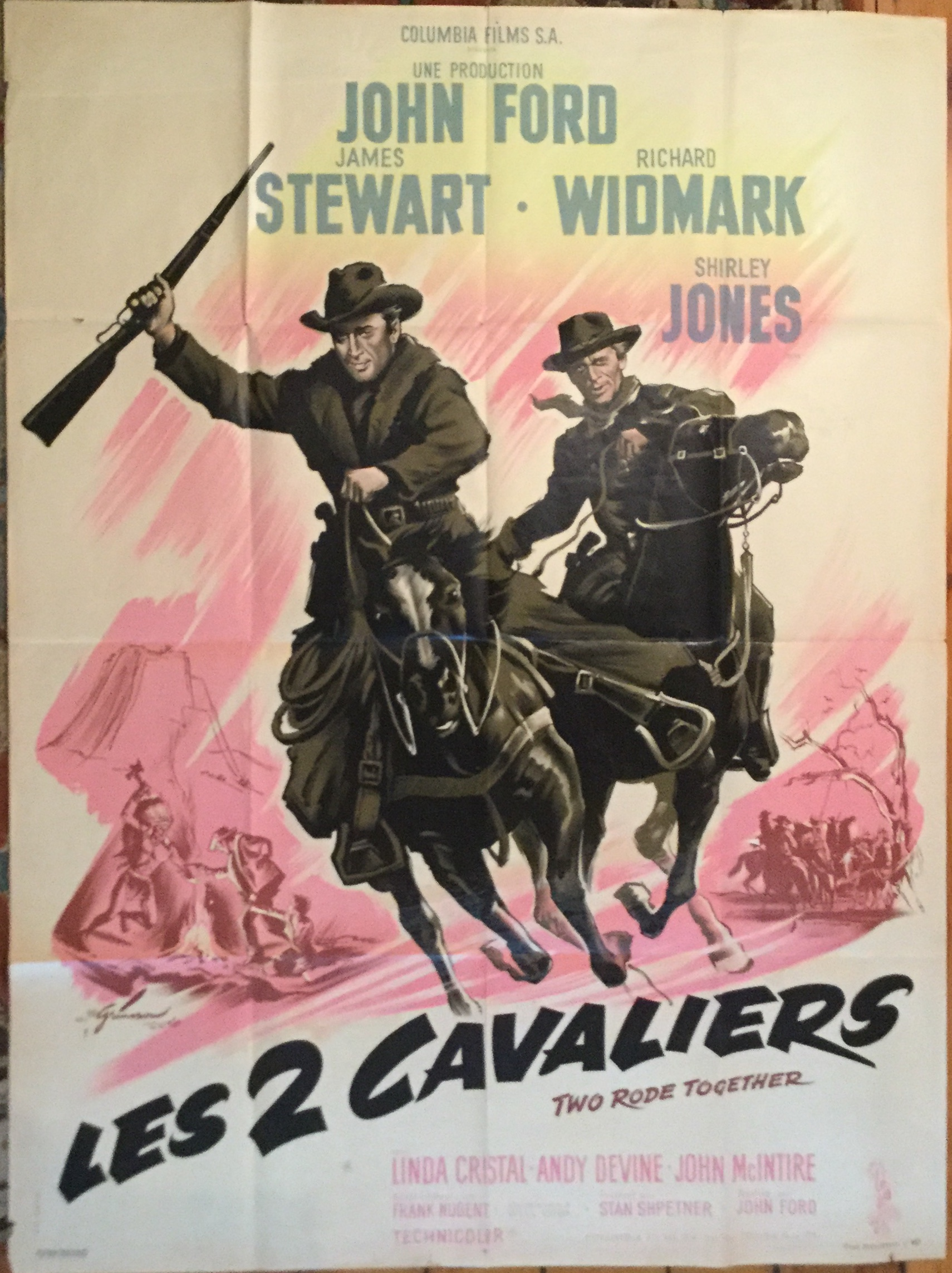 U1091 TWO RODE TOGETHER [LES 2 CAVALIERS]