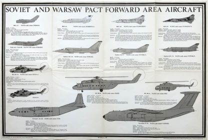J564SOVIET AND WARSAW PACT FORWARD AREA AIRCRAFT