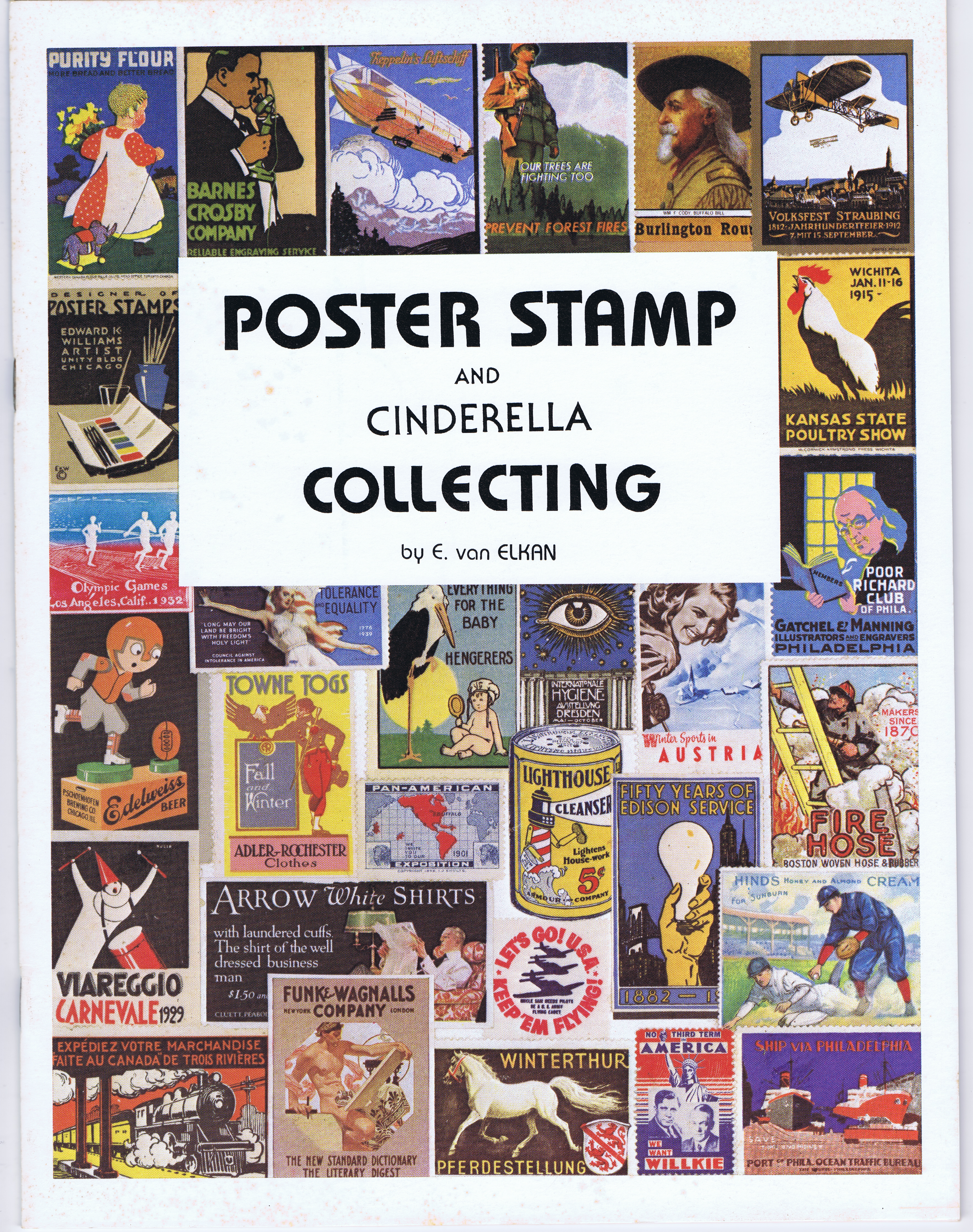 AK0678POSTER STAMP AND CINDERELLA COLLECTING
